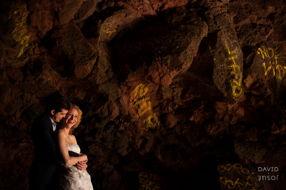Bridal Photography, sea rocks in Rosarito